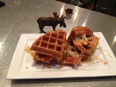 Chicken & Waffles @ Small Plates