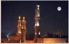 Al-Azhar Mosque in Cairo by Marcelo Ruiz