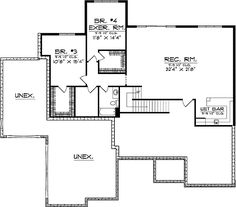 English Country Style House Plans 4378 Square Foot Home