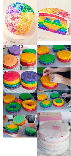 http://bakingdom.com/2011/08/rainbow-heart-cake.html