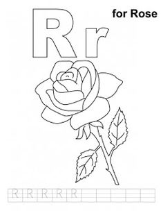 Read moreR For Rose Free Alphabet Coloring Pages Letter A Coloring Pages, Coloring Letters, School Coloring Pages, Coloring Pages For Boys, Printable Coloring Pages, Colouring Pages, Coloring Sheets, Kids Coloring, Letters For Kids