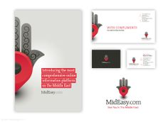 MidEasy, identity, brochure & website (The Ad Agency, www.theadagency.nl) #graphicdesign #brochure #identity #website