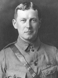 """One of the most well-known Remembrance Day poems, """"In Flanders Fields"""" was written by Canada's Lieutenant Colonel John McCrae during the First World War and inspired by poppy fields near """"Essex Farm"""", Ypres in Flanders."""