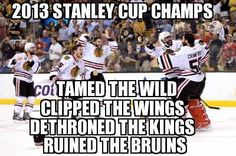 A multi-talented team - can tame, clip, dethrone, ruin and bring home the cup!