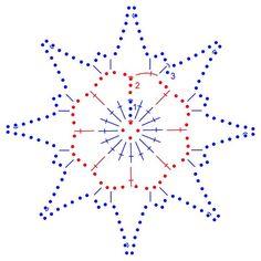 snowflakes crochet 249