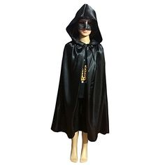 Labellevie Cloak with Hood Child Unisex Hooded Cape Costume Halloween Party