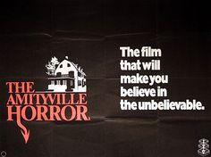 The Amityville Horror 1979 Original Vintage UK Quad Movie Poster