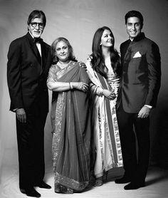 The Bachchans // Amitabh Bachchan, Jaya Bachchan, Aishwarya Rai Bachchan, Abhishek Bachchan