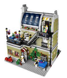 LEGO Creator EXPERT 10243 Parisian Restaurant 4