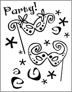 mardi gras for kids | Happy Mardi-Gras-Coloring-Page-For-Kids ...