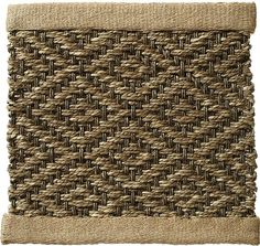Sisal W5 Sea Grass #1 {rugs, carpets, textures, home collection, decor, residential, commercial, hospitality, warp & weft}
