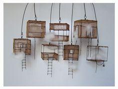 du Fil de Fer -by Isabelle Bonte little art house