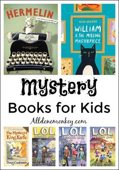 Follow the clues and solve the case with these great mystery books for kids! A wonderful way to explore a new genre and get kids excited about reading.