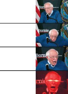 See more 'Bernie Sanders Iowa Victory Speech Reactions' images on Know Your Meme! Oc Template, Templates, Bernie Memes, Fast Meme, Drake Meme, Funny Tom, Overlays Tumblr, Blank Memes, Meme Maker