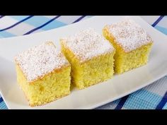 Prajitura cu lamaie si nuca de cocos (reteta video) - JamilaCuisine Romanian Food, Something Sweet, Cakes And More, Allrecipes, Cornbread, Vanilla Cake, Fudge, Caramel, Lemon