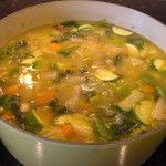 Vegetable Soup with Escarole and Beans