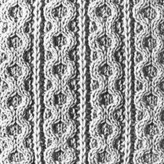Knitting Pattern Square No. 70, Volume 34 | Purple Kitty