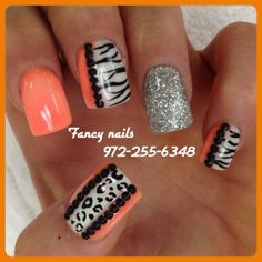 good zebra pattern to copy and this would be amazing in pink silver and black
