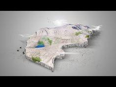 Photoshop: how to create 3D Map   Faroe Islands - YouTube
