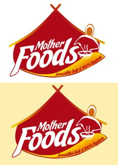 Mother Foods logo for a restaurant and catering company