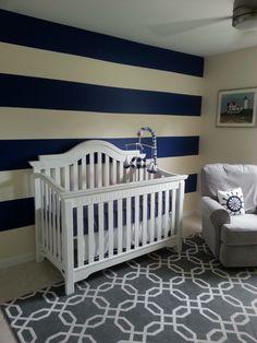 Nursery rugs, nautical nursery, cream nursery, striped nursery, nursery d.