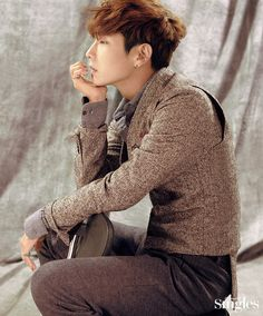 """Lee Joon Gi, who is riding high with his drama """"Moon Lovers: Scarlet Heart Ryeo"""" (at least with international audiences) slayed the readers of Singles with a new pictorial. Looking dapp…"""