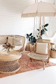 Discover our key ideas, to create an ethnic style garden furniture. room Deco # # development by rhinov_ Living Room Decor, Living Spaces, Living Rooms, Style Deco, Rattan Furniture, Modern Furniture, Minimalist Furniture, Garden Furniture, Mid Century House