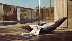 Free Exterior Daybed 3d Model by Benjamin Brosdau - 3D Architectural Visualization & Rendering Blog