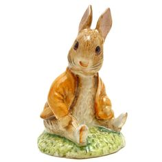 Beswick Beatrix Potter Figure, Benjamin Bunny Sat on a Bank, Beswick