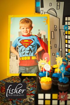 www.janifisherphotography.com Soooo cute!  Stacy had a super hero party for A.  She will love this!