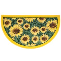 This Delightful Sunflower Kitchen Rug Is Full Of Character And Charm. It  Will Add Sunshine