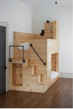Bunk bed fort! It's clearly for children, but I want one for myself!