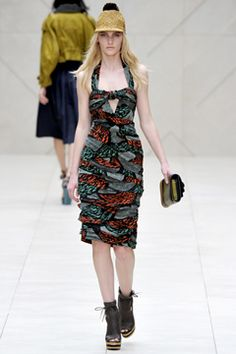 Burberry Spring 2012 I like only the dress