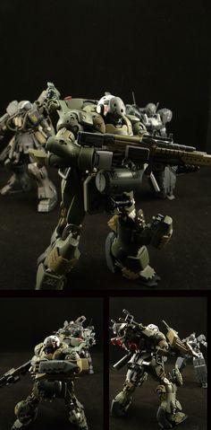 HGUC 1/144 AMS-129F Kaing Zulu - Custom Build by pd02a