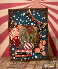 """Создавать Прекрасное: """"Vintage circus"""""""