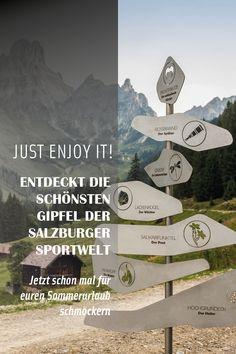 Diesen Sommer die schönsten Gipfel der Salzburger Sportwelt entdecken
