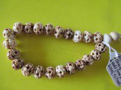 Human Lama Bone Beads - 19th Century (China)