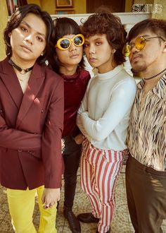 With their disco tracks and retro thrifted outfits, funk band IV of Spades is not the band you expected for this generation. King Of Spades, Funk Bands, Clap Clap, My Boys, Indie, Guys, Unique, Outfits, Erika