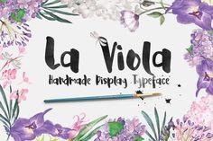 La Viola – Free Handmade Display Font Poster A