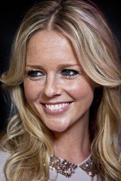 Chantal Janzen Dutch TV-host and actress blonde few freckless