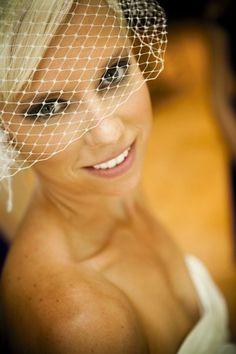 bird cage veil Bridal Hair And Makeup, Hair Makeup, Wedding Inspiration, Wedding Ideas, Bird Cage, Special Day, Veil, Sassy, How To Make