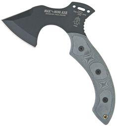TOPS Knives MAX the Mini Axe 9-1/4 inch Overall, Micarta Handles, Kydex Sheath
