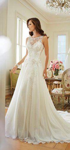 40 Gorgeous Heavy Wedding Gown Designs