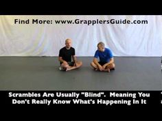 VISIT: http://www.GrapplersGuide.com - In this video about the concept of scrambling and I give an example of a scramble chain drill that I like to do as well.  Pay attention to the commentary along with the visual demo.  PLEASE SUBSCRIBE TO MY YOUTUBE CHANNEL  BJJ Grappling System Outline: http://www.GrapplersGuide.com Invisible Grappling DVD S...