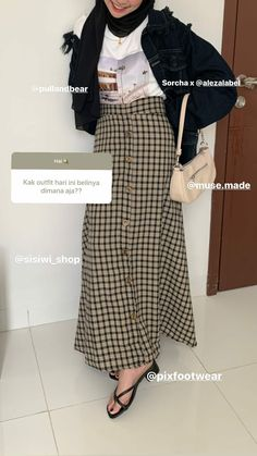 Casual Hijab Outfit, Ootd Hijab, Hijab Chic, Casual Outfits, Muslim Fashion, Modest Fashion, Fashion Outfits, Best Online Clothing Stores, Hijab Fashion Inspiration