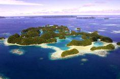 Pulau adalah sebidang tanah yang lebih kecil dari benua dan lebih besar dari karang, yang dikelilingi air.