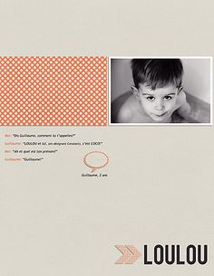 exemple scrapbooking minimaliste