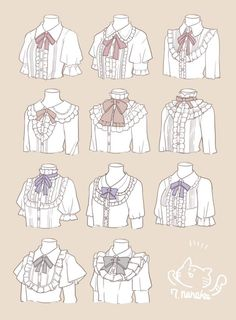 Old fashion Lolita top dress tutorial