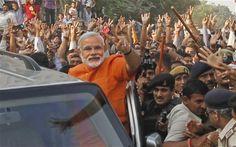 Narendra Modi hailed as India's next prime minister #India #Modi