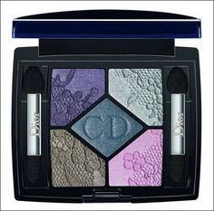 Dior Lace Collection Spring 2010: Pearl Glow Eyeshadow Palette in Coquette (743)